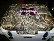 Yeti 35 qt & Others Cooler Cushion Camo Mississippi State Free Shipping