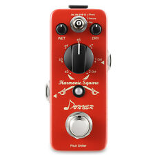 Top Quality Donner Digital Octave Guitar Effect Pedal Harmonic Square 7 modes
