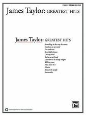 James Taylor : Greatest Hits (1978, Paperback) New