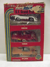 Vintage Champ Of The Road G.T. Grand Prix Diecast Cars With Box 1:40 Scale