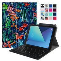 For Samsung Galaxy Tab S3 9.7'' SM-T820/T825 2017 Bluetooth Keyboard Case Cover