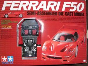 1/12 SCALE Tamiya Ferrari F50 RED Semi-Assembled DIE-CAST Model Car