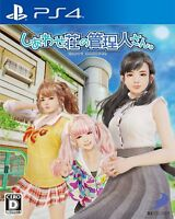 USED PS4 Shiawase-sou no Kanrinin-san JAPAN Sony PlayStation 4 Happy Manager