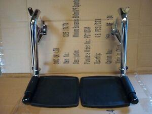 Pair Of Wheelchair  Footrest