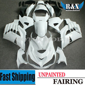 ABS Plastic Unpainted Injection Fairings Bodywork for 12-19 Ninja ZX-14R ZZR1400