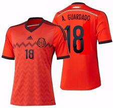 e45b458d7 ADIDAS ANDRES GUARDADO MEXICO AWAY JERSEY FIFA WORLD CUP BRAZIL 2014.