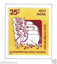 PHILA626 INDIA 1974 SINGLE MINT STAMP OF INTERNATIONAL DAIRY CONGRESS MNH