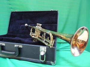 King Trumpet 🎵Cleveland SUPERIOR 1966 Refurbished Bach MP & King Cleveland case