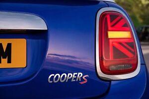 Genuine MINI Union Jack LED Taillights Set MINI Cooper S JCW One F55 F56 F57