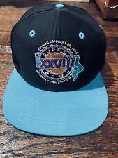 Brand New Super Bowl Xxvlll January 30, 1994 Hat Cap
