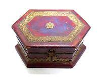 Vintage Style Beautiful Decorative & Usable Wooden Trinket Box. i71-93 US