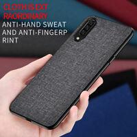For Xiaomi Mi Max 3 Mix 2 2S, Fabric Canvas Cloth Leather Soft Bumper Case Cover