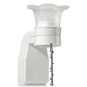 Bath and Body Works WALLFLOWER Plug In White Flower top Diffuser