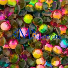 280pcs Rainbow 5mm ss20 Flat Back Glass DMC A+ Hotfix Rhinestones Crystals C28