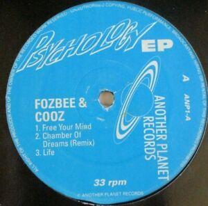 """FOZBEE & COOZ ~ Psychology EP ~ 12"""" Single"""