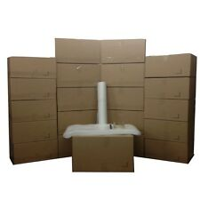 Basic Moving Box Kit - 20 Boxes (10 Medium/10 Small) plus Supplies Included