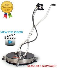 A+ Pressure Whirl-A-Way 21'' Stainless Surface Concrete Cleaner - BE The BEST!!!