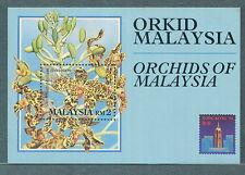 MS orchids of Malaysia mint 17.2.1994 (yellowish)