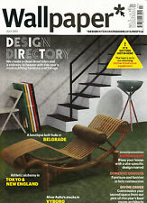 WALLPAPER MAGAZINE JULY 2011 DESIGN DIRECTORY; Sofie Bartos @NEW@