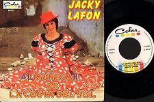 """JACKY LAFON almunecar de la costa del sol C.84.037 colour 7"""" PS EX/EX wos"""