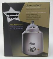 NEW Tommee Tippee Closer to Nature Electric Baby Bottle & Food Warmer