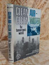 1971 Clean Air Clean Water for Tomorrow's World Series Millard Antique Book
