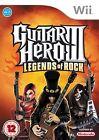 Guitar Hero 3 LEGGENDE DI ROCK GIOCO PER NINTENDO WII e U- 1st CLASSE Deliver