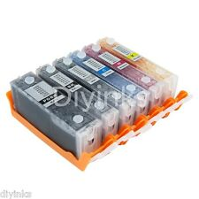 6 COLOR Refillable Ink Cartridge For Canon PIXMA IP8720 MG7120 MG6320 CISS