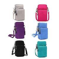Purse Wallet Cross-body Mobile Phone Shoulder Bag Pouch Case Women Belt Handbag