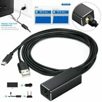Ethernet LAN USB Adapter Micro USB to RJ45 for Amazon Fire Stick For Chromecast