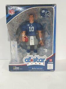 Upper Deck All Star Vinyl Eli Manning NY Giants (Blue Jersey) NFL Figure w/ Card