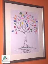 School / Nursery Leaver Fingerprint Tree - Personalised Keepsake - A3 & Extras