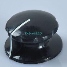 10pcs 1 4 Vintage Control Volume Knob for Electric Guitar Parts Amp Effect Black