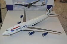 "Inflight 200 1/200 British Airways 747-200 ""Rendezvouz - Hong Kong"", G-BNLR, NIB"