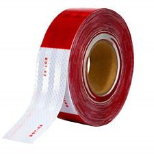Houseables Reflective Tape Roll Dot C2 150 X 2 Redwhite Trailer Caution 4