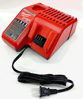 Genuine Milwaukee Battery Charger 48-59-1812 18V 18 VOLT M12 / M18 Lithium-Ion