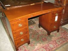 Exceptional Mahogany Kittinger Furniture Federal Style Dressing Table -- Vintage