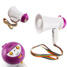 PORTABLE MEGAPHONE SIREN LOUD SPEAKER HAILER HORN SPORTS HANDHELD SOUND NEW