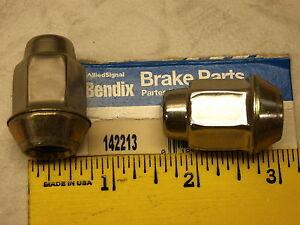 4 Bendix 142213 Wheel Lug Nut, Nuts, OE Nut, Free US Ship