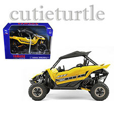 New Ray Yamaha YXZ1000R Triple Cylinder Motorcycle ATV Buggy 1:18 57813B Yellow