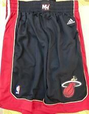 Adidas Swingman NBA Shorts Miami Heat Team Black sz M