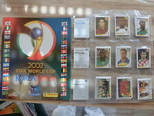 Panini World Cup 2002 Coupe du Monde 02 * Ensemble Complet Complete Set * EMPTY ALBUM