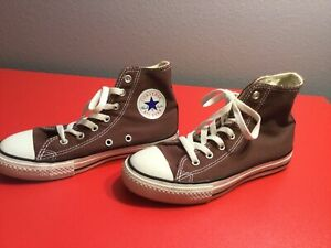 Converse Chuck Taylor All Star Youth Choc. High Top Unisex Size 2
