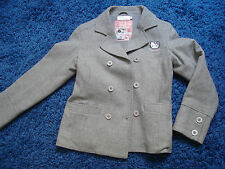 VESTE HELLO KITTY 11 12 ANS BLAZER LAINE VICTORIA COUTURE TBE PALETOT CABAN