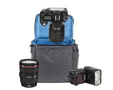 Riva 7503 Tasche Case Hülle Bag in Canvas Grau für Nikon D3100