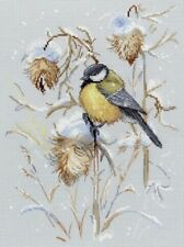 Counted Cross Stitch Kit MP STUDIO - SNOW TIME