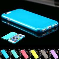 Soft TPU Protective Case Ultra Thin Flip Cover for iPhone 6 6s 6 Plus 6s Plus