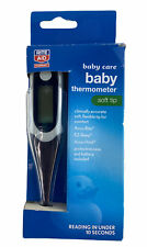 Rite Aid Baby Thermometer Soft Tip Oral Or Underarm Reading In 10 Secs