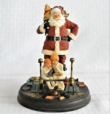 Vintage Saturday Evening Post Collection The Country Gentleman Santa Figurine