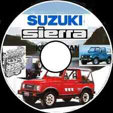 SUZUKI Sierra SJ413-SJ410- Samurai JA51- Jimney SN413- Workshop Repair Manual CD